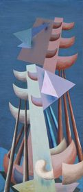 Personnages Maritimes, Georges Papazoff, 1930 Galerie des Modernes #Papazoff