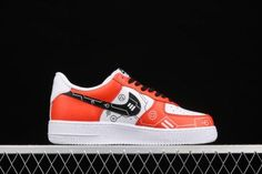 Cheap Nike AF1 Air Force 1 07 Red White Black Casual Shoes CW2288-112-4 Air Force 1, Nike Air Force, Black Casual Shoes, Nike Af1, Cheap Nike, Red And White, Sneakers, Tennis, Slippers