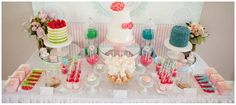Yummy looking lolly stand!