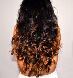 dark hair color ideas | dark-ombre-hair – Hair Colors Ideas | We Heart It