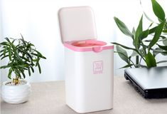 2018Household Cleaning Tools,Desktop Storage Organizer Mini Lovely Animal Trash Can Sundries Barrel  free shipping LH0186
