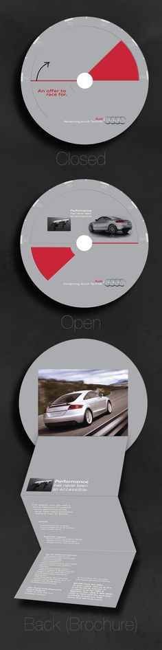 Audi TT Direct Mailer by Laila Loubani, via Behance