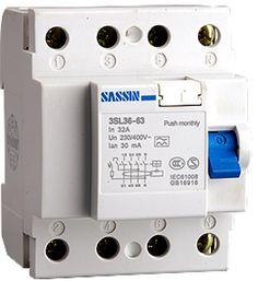 Interruptor diferencial 4 P, 63 A, 300MA, clase AC #iphone #blogtecnologia #tecnologia