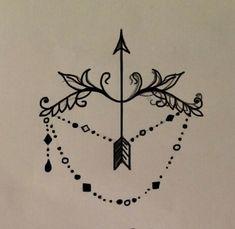 ornamental - victorian - Sagittarius - tattoo ideas