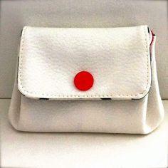 Tuto porte-monnaie à soufflets Coin Wallet, Coin Purse, Handbag Patterns, Wallet Pattern, Leather Projects, Cotton Bag, Handmade Bags, Dressmaking, Clutch Bag
