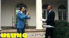 Barack Obama vs  Lin Manuel Miranda w ulung tv