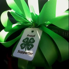 National 4-H week - proud 4-H Supporter ribbons