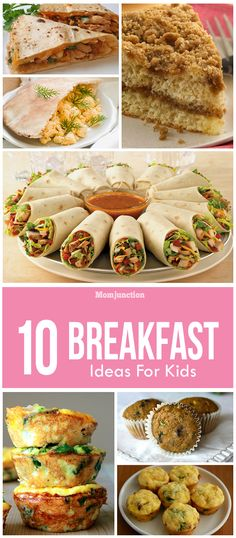 Breakfast Ideas For Kids: Here's where we can help. Here are 10 healthy breakfast ideas that your kids can have on their way to school. You can make even make batches of these recipes before the busy week starts.