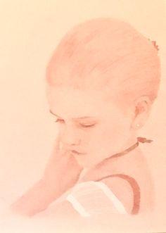 The Little Ballerina - every little girl's dream...a stunning portrait by South Carolina artist, Mary Burkett.