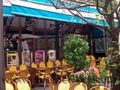 Outdoor Cafe Paris France...one day I will sit here and write