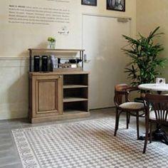 Couleurs & Matières : L'esprit contemporain du carreau de ciment Kitchen Cabinets, Home Decor, Sun, Cement, Tile, Spirit, Contemporary, Colors, Diy Ideas For Home