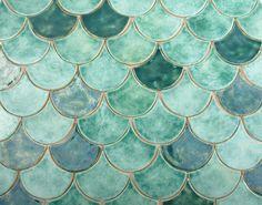 kafle rybia łuska / Dekornia / Dekoracja Wnętrz / Ceramika