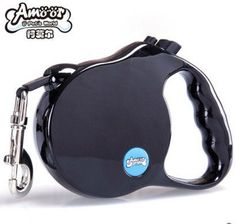 Automatic retractable dog leash