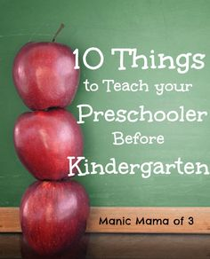 Kindergarten is no longer the time when children learn their alphabet and how to write their name. Kindergarteners are expected, according to state standards, to know basic skills before entering K…