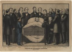 Death of President Abraham Lincoln