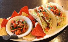 Fish Tacos are served in Griddle 145, in Whitehall.