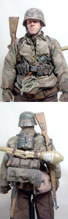 WW2 German rifleman. - OSW: One Sixth Warrior Forum