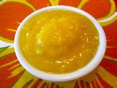 Mango Banana Puree on Weelicious