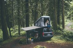 Rooftop Tent Life - Rooftop tent camping in the North Cascades of Washington.