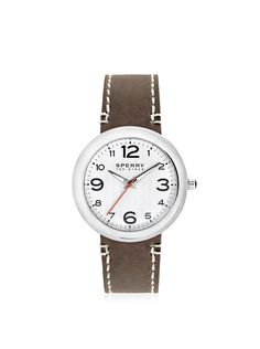 Sperry Top-Sider Men's 10008967 Sandbar Stainless Steel Watch with Brown Leather Band, http://www.myhabit.com/redirect/ref=qd_sw_dp_pi_li?url=http%3A%2F%2Fwww.myhabit.com%2Fdp%2FB00CQRO8P8%3F