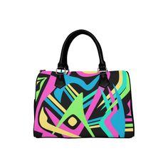 Neon Puff Boston Handbag (Model 1621) Mochila Nike, Tote Bags, Boston, Neon, Phone Cases, Model, Accessories, Fashion, Moda