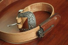 Belt and Folding Knife Pouch