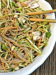 Asian Garden Pasta Salad.