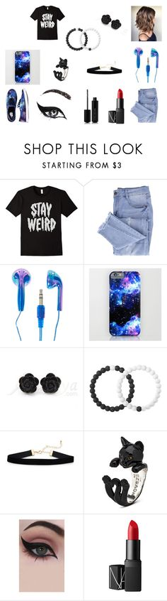 """""""Stay Weird"""" by thewallflowergirl on Polyvore featuring Essie, Vans, Lokai, Concrete Minerals, NARS Cosmetics, Marc Jacobs and stayweird"""