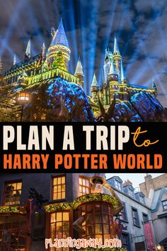 Are you ready to plan a trip to Harry Potter World? You are in the right place! Harry Potter World is amazing! There is so much to see and do! If you are a Harry Potter fan this is going to be a dream come true. Even if you are not a big fan, you can still have a great time. Harry Potter planning can be a little overwhelming! | Planning Away @planningaway #harrypotterworld #familyvacation #orlandovacationplanning #universalstudiosflorida #planningaway Florida Vacation Spots, Family Vacation Spots, Orlando Vacation, Family Resorts, Florida Travel, Travel Usa, Family Travel, Travel Tips, Orlando Travel