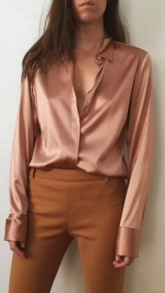 Arbeit outfit Ann Taylor ,, Tips for Buying Diamond Rings and Other Fine D Classy Outfits, Chic Outfits, Trendy Outfits, Fashion Outfits, Ann Taylor, Vetement Fashion, Satin Shirt, Satin Blouses, Blouse Outfit