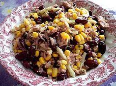Kidneybohnen - Salat mit Thunfisch und Käse (Rezept mit Bild) | Chefkoch.de