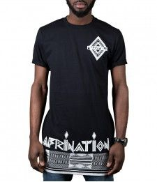 Afrination New Africa Longline T-Shirt