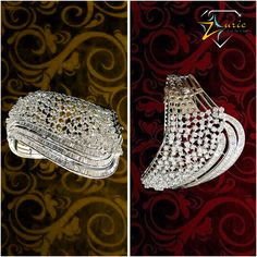Pair this Elegant Diamond Bracelet studded with Round Brilliants & Baguettes to get the heads turn towards this unusual design.. #Bracelet #Diamond #Gorgeous #UnusualDesign #Zurie ZURIE's photo.