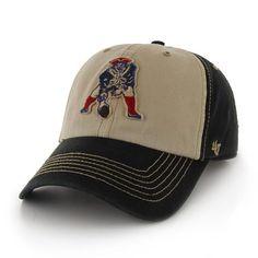 0838567ed Throwback  47 Brand Yosemite Cap-Black Tan Patriots Pro Shop