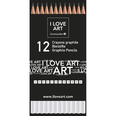 I LOVE ART Sketch Bleistift-Set