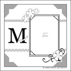 #8..... by Valerie Salmon.... I like the monogram (initial)