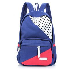 Find More Casual Daypacks Information about 2014 color block women backpack  preppy style girls school bag 107ab7b1f4