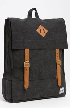 Kenox Vintage College Backpack School Bookbag Canvas Laptop ...