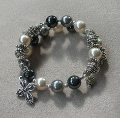 """Angels - Archangels"" One decade, rosary wrap bracelet, www.AveMomma.com.  $29.95"