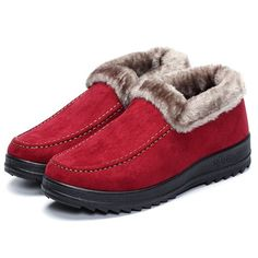 $12.21 Designer Suede Ankle Soft Warm Footwear Short Boots For Women - NewChic