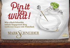 Pin It To Win It Mark Schneider Giveaway with Whiteflash.com
