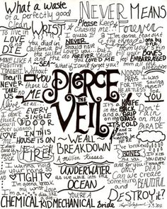 pierce the veil quotes. ♡ A true fan would get every single one. I know i do!