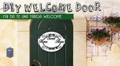 Targhetta Welcome con Lasercut - STILEVELENO BLOG - StileVeleno Design