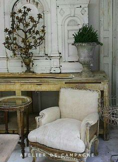Realistic appointed french country shabby chic home No Credit Card Required French Interior, French Decor, French Country Decorating, Interior Design, French Furniture, Shabby Chic Furniture, Furniture Market, Bedroom Furniture, Shabby Chic Homes
