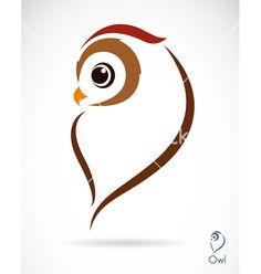 I really like this owl vector because it creates a strong and wise feel without feeling overpowering and forceful. I like that most of the body is shown in almost a silhouette form. It gives a feeling of innocence but power and dignity as well. The form/stance of the owl is as if it has purpose and focus. Owl vector