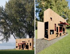 thin rectangular abode