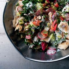 Na'ama's Fattoush (with Sumac & dried mint) by Yotam Ottoloenghi ...
