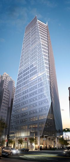 535 Mission Street Tower, San Francisco designed by HOK Architects :: 27 floors