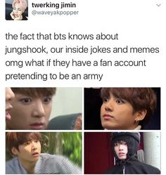 The theories begin now!!!! Haha, begin!!!! Get it???? Because that's jungkook's song!!!!!!!