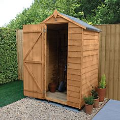 Apex Roof, Shed Base, Timber Boards, Hidden Hinges, Small Sheds, Shed Doors, Wooden Sheds, Garden Equipment